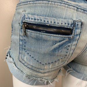 ❤️ 3/$25 Light Blue Distressed Cut-Off Jean Shorts